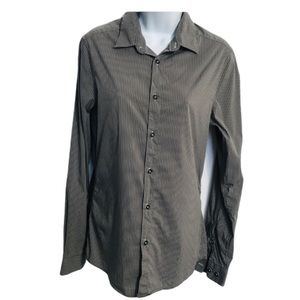 H & M striped long sleeve shirt size Small